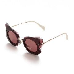 【现货秒发】MiuMiu/缪缪 女士板材/金属太阳镜眼镜 0MU 02SS图片