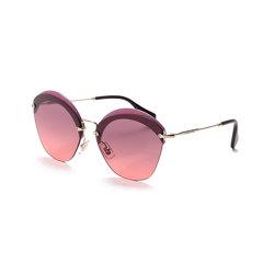 【现货秒发】MiuMiu/缪缪 女士金属太阳镜眼镜 0MU 53SS图片