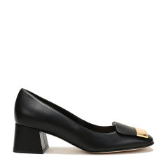 【现货秒发】Sergio Rossi/塞乔·罗西 女士皮革粗跟单鞋 A86431 MNAN07图片