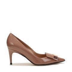 【现货秒发】Sergio Rossi/塞乔·罗西 女士牛皮尖头高跟鞋 A78950 MVIV01图片