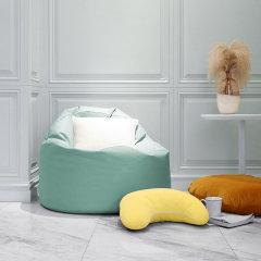 MRLAZY懒先森两用圆形懒人沙发舒适阳台躺卧软塌小户型北欧风格图片