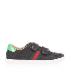 GUCCI/古驰 21年春夏 百搭 男女童通用 黑色 儿童运动鞋 455496 DF720 1068图片