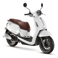 【定金】QJMOTOR菲诺风冷单缸四冲程无级变速踏板摩托车图片