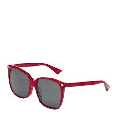GUCCI/古驰 时尚 复古 优雅 方形 板材 大框 男女款 太阳镜 多色可选 墨镜 眼镜 GG0022SA 57mm图片