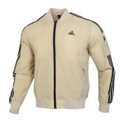 Adidas/阿迪达斯  2020年秋冬季 男款 运动服 舒适 透气 健身 休闲 连帽 夹克 外套 GH4802图片
