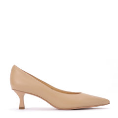 BENATIVE/本那【大小脚克星 】高跟鞋女2020年秋冬新款舒适低中跟单鞋图片
