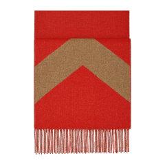 HERMES/爱马仕 新款 双面 拼色羊绒围巾(配HERMES礼品盒)图片