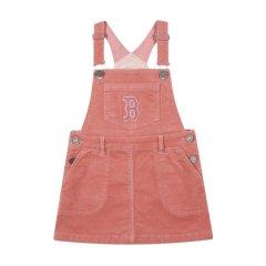 【童装】MLB 20年冬季新款 Corduroy 女童 背带 运动裙 71OP03041图片