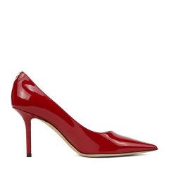 Jimmy Choo/周仰杰【20秋冬新款】女士LOVE 85系列漆皮高跟鞋LOVE85PWJRED DX图片