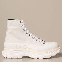 Alexander McQueen/亚历山大麦昆 20年秋冬 百搭 男性 男士短靴 627206WHBGN图片