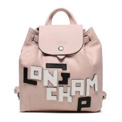 【国内现货】Longchamp/珑骧 女士LE PLIAGE CUIR LGP系列羊皮迷你双肩包 1306 755 001图片