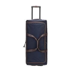 【国内现货】Longchamp/珑骧 Boxford系列中号滚轮式旅行袋织物/配皮拉杆箱行李箱 1445 080图片