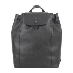 Longchamp/珑骧 Le Pliage Cuir女士系列羊皮手提背包迷你双肩包图片
