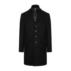 BURBERRY/博柏利男士大衣男士保暖衣物内里(可拆卸)羊毛大衣两件式套装男士外套棉服大衣上衣男装39414991图片