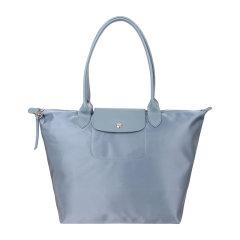 【20秋冬新款】Longchamp/珑骧  女士LE PLIAGE NEO系列织物大号长柄手提单肩包饺子包图片
