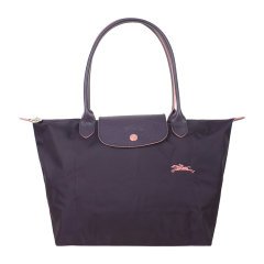 Longchamp/珑骧  LE PLIAGE CLUB系列女士纪念款小号折叠长柄饺子包单肩手提包 2605 619图片