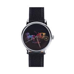 【包邮包税】COACH/蔻驰 女士时尚皮带手表 1450图片
