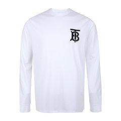 【20秋冬新款】BURBERRY/博柏利 男士TB专属标识图案长袖棉质上衣圆领长袖T恤衫图片