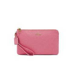 COACH蔻驰 钱包卡包零钱包双拉链钱包手机包 简约纯色 女包 87587图片