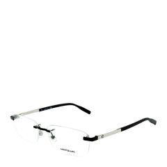 2020年新品 MontBlanc/万宝龙 商务 休闲 男女款 无框 光学镜架 长方形 近视 眼镜框 眼镜架 MB0023O 59mm MontBlanc/万宝龙图片