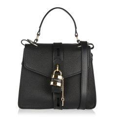 CHLOE/克洛伊 女士皮革字母LOGO锁头翻盖手提包单肩包斜挎包女包 C19AS188-B57-001图片