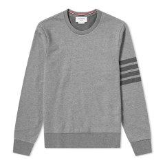 THOM BROWNE/THOM BROWNE 男装条纹休闲套头运动衫卫衣 MJT248A6910图片