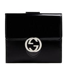GUCCI/古驰  女士漆皮短款钱夹钱包图片