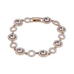【包税】Givenchy 纪梵希镂空圆形单钻配碎钻手链 60541860图片