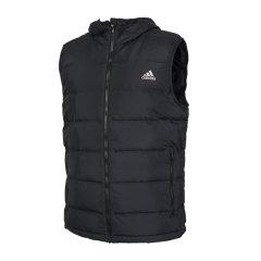 Adidas/阿迪达斯 20年冬季 男款 运动 休闲 轻盈 连帽 户外 时尚 潮流 羽绒服 背心 马甲 BQ2006图片