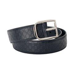 【包税】 Gucci/古驰 男士双G暗纹压花针扣腰带皮带 449716图片