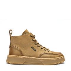【秋冬新款】Daisy Fellowes/黛西法罗 男士休闲鞋 英伦风牛皮短靴 高帮系带男鞋 运动鞋 马丁靴图片