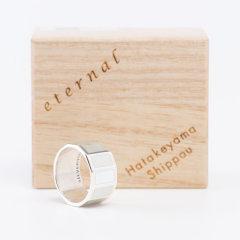 日本七宝烧 灰色 戒指/指环 ETERNAL系列 匠人手作 日本制 获奖产品图片