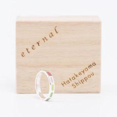 日本七宝烧 彩色 戒指/指环 ETERNAL系列 匠人手作 日本制 获奖产品图片