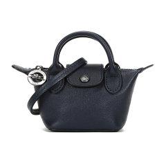 Longchamp/珑骧  女士LE PLIAGE CUIR系列迷你款羊皮手拿包单肩斜挎包 10099 757图片