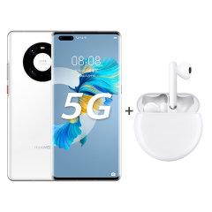 【组合商品 】华为 HUAWEI Mate 40 Pro 全网通5G手机+华为FreeBuds3 无线充版蓝牙耳机图片