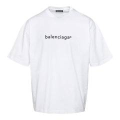 Balenciaga/巴黎世家 20年秋冬 百搭 男性 男士短袖T恤 612966TIV54图片