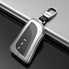 QUEES/乔氏 汽车钥匙套 适用于雷克萨斯18-20款ES200/WS260/ES300h/UX260h/LS350/LS500h 按键全包钥匙壳 合金材质图片