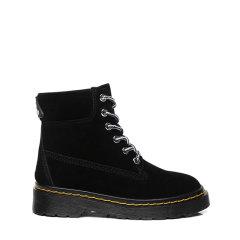 【儿童马丁靴】20秋冬新款EVER UGG经典亲子牛反绒绑带设计极简童鞋EA3041K图片