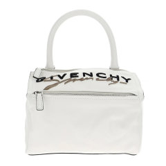 Givenchy/纪梵希 PANDOR系列女士牛皮LOGO印花小号手提包女包 BB500AB0LZ 多色可选小号粒面皮革PANDORA手袋27*16*16cm图片