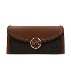 【包邮包税】Michael Kors/迈克.科尔斯大号女士牛皮革长款手拿钱包35F9GFTE3L黑色图片