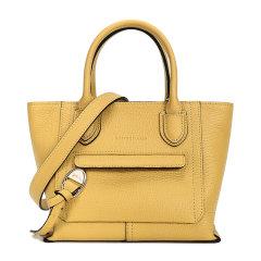 Longchamp/珑骧 女士MAILBOX系列小号牛皮手提单肩斜挎包褐10103HTA图片