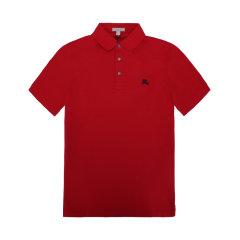 【包税】BURBERRY/博柏利  经典骑士logo 男士POLO衫 4055127100图片
