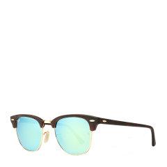【SALE】Ray-Ban/雷朋 派对达人款半框男女款太阳镜炫彩反光镜面墨镜眼镜 RB3016 51mm RayBan 雷朋图片