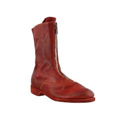 【国内现货】GUIDI 20秋冬 310 黑色/白色/红色 马皮前拉链 短靴 女神靴图片