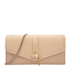 CHLOE/克洛伊 女士黑色皮革锁扣装饰长款手拿包钱包钱夹女包 C20SP314-B71-001图片