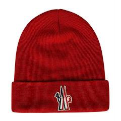 Moncler/蒙克莱 男士羊毛正面刺绣徽标针织豆豆帽无檐帽男帽 3B10000-09974 多色可选图片