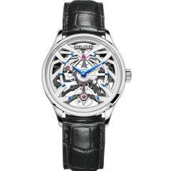AGELOCER/艾戈勒手表黑森林系列女士手表女款镂空机械表新款时尚潮流机械手表图片