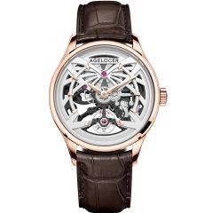 AGELOCER/艾戈勒手表黑森林系列男士手表男款镂空机械表新款时尚潮流机械手表图片