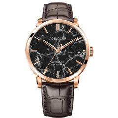 AGELOCER/艾戈勒手表贝加尔湖系列男士手表男款天然大理石机械表新款时尚潮流自动机械手表图片