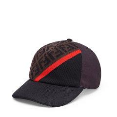 FENDI/芬迪 拼色帆布棒球帽FXQ768 AEVF图片